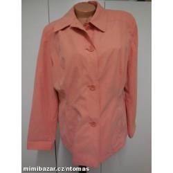M + S lososový kabátek V.46