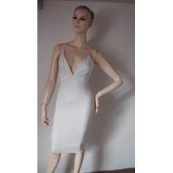 Aftershock bílé nové šaty...
