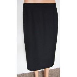 Černá kostýmová sukně,...