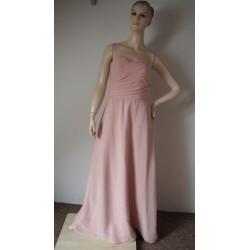 Růžové společenské šaty V. M
