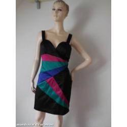 H&M saténové šaty V. 40