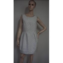 Bílé šaty NEW LOOK, puntík,...