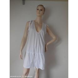 F&F bílé šaty V. M - nové