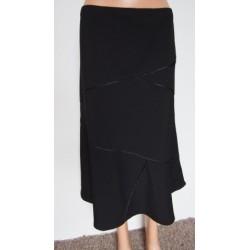 BM černá volná sukně V.48...