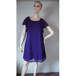 Atmosphere fialové šaty s...