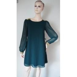 Atmosphere smaragdové šaty...