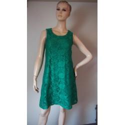 George zelené krajkové šaty...