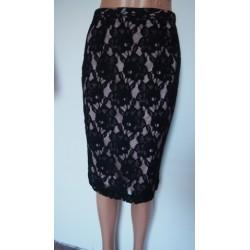 M + S krajková sukně V.38