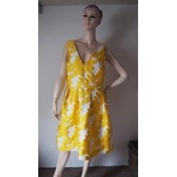 Zlatobílé šaty Next V.44 nové
