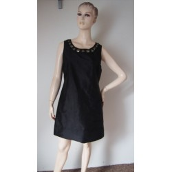 Oasis černé šaty s kamínky...
