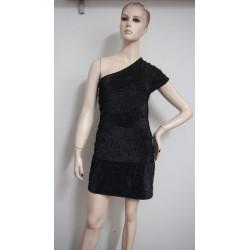 AX Paris černé šaty s...
