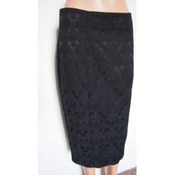 NEW LOOK Úzká černá sukně s...