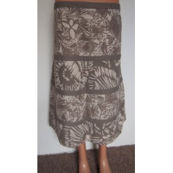 Letní lněná sukně MAINE, v.48