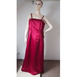 Červené společenské šaty V.XXL