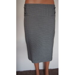 papaya černobílá sukně V.48...