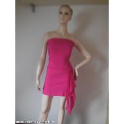 Diva růžové korzetové šaty V.S  M d96115422f