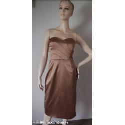 Coast bronzové plesové šaty...