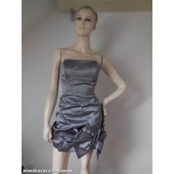 Karen Millen saténové šaty...