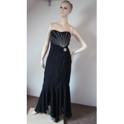 Černé společenské šaty s...