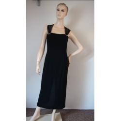 Dusk černé společenské šaty...