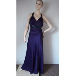 Star večerní fialové šaty s...