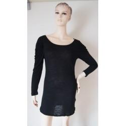 Černé tenké šaty V.S Nové...