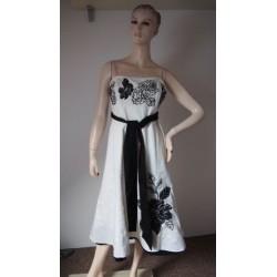 John Rocha bílé šaty s...