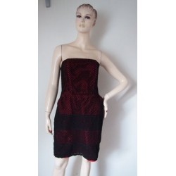 Papaya krajkové šaty V.40
