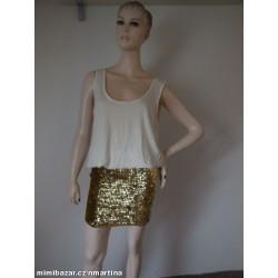 Asos šaty s flitrovou sukní...