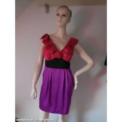 Next saténové šaty V.38