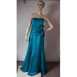 Zelené společenské šaty V. L