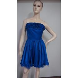 Bay královsky modré šaty...